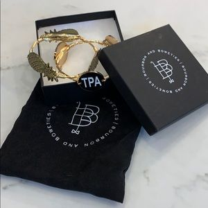 Bourbon and Bowties Tampa/Pineapple Bracelet Set